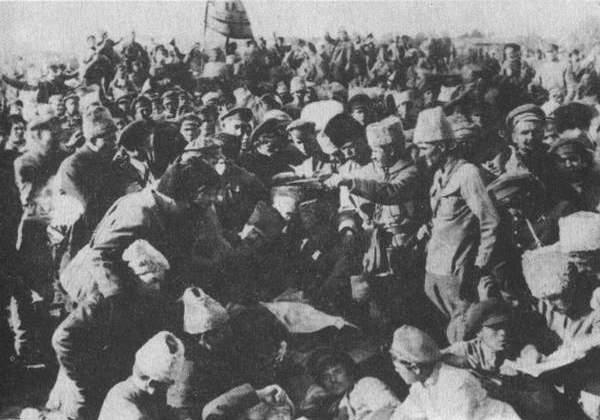 Підписання старобєльської угоди махновців з Радянською владою