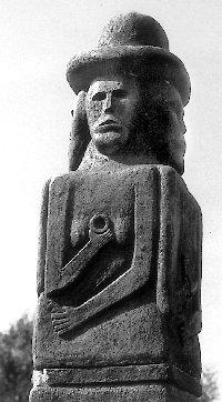 Уявна реконструкція Збручанського ідола