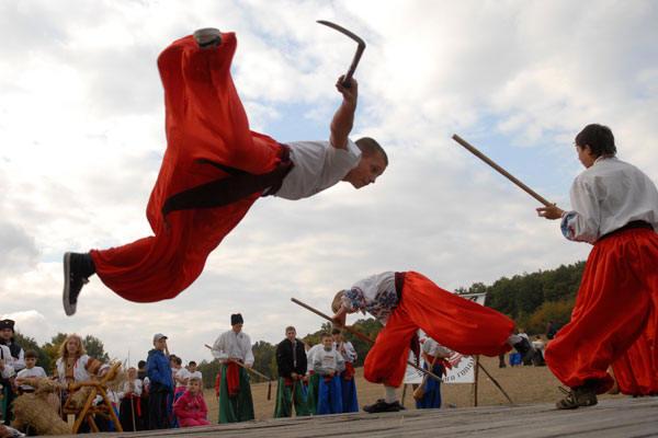 фестиваль бойового гопака «Козацькі звитяги 2009»