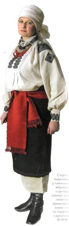 Жіноча сорочка вишиванка Поділля