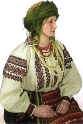 Подільська жіноча вишивка
