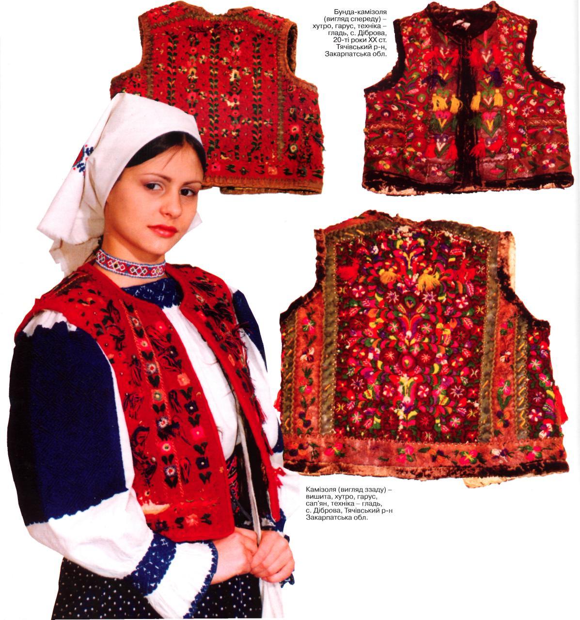 Жіночий одяг закарпаття вишиванки
