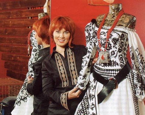 Вишивка в сучасному одязі 21 століття