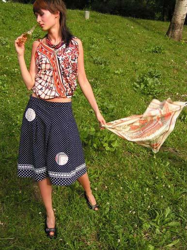 Український одяг - вишивка 21ст