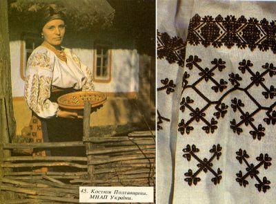 Українська вишивка на сорочці