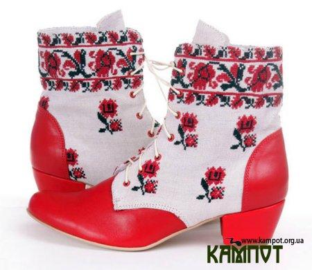Жіночі черевики ручної роботи з