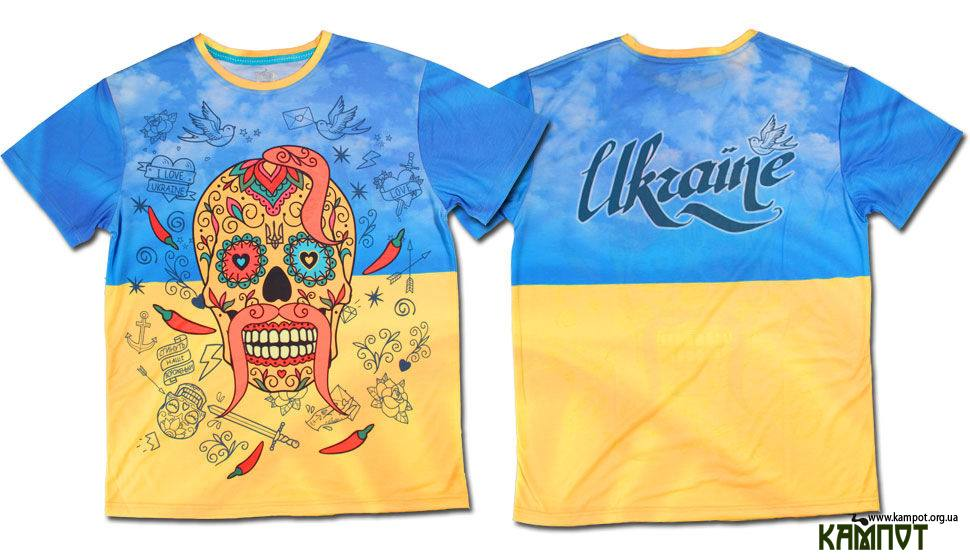Футболка з черепом » Український інтернет магазин b3f30da03861f