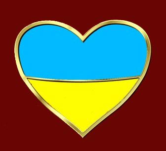 Значок - серце