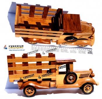 Дерев'яний автомобіль - 40см.