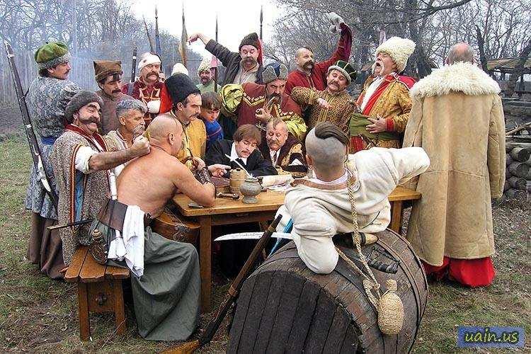 Сучасні козаки пишуть листа Путіну
