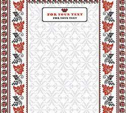 Національні українські орнаменти - векторні фони