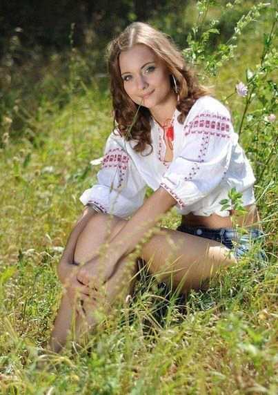 Українські красуні в полі