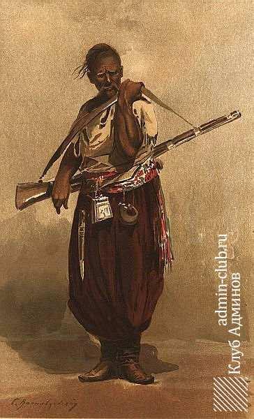 Малюнок старого козака