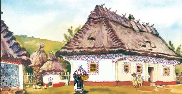 Українсьька хата с. Цибулівка