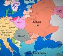Зміна кордонів держав Європи за 3 хв.