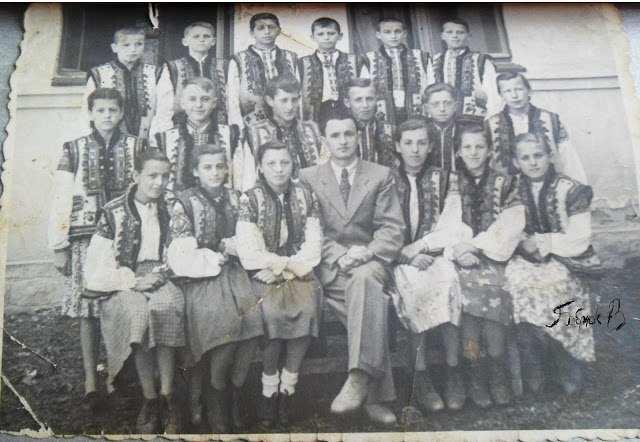 Школярі-гуцули 1960 року