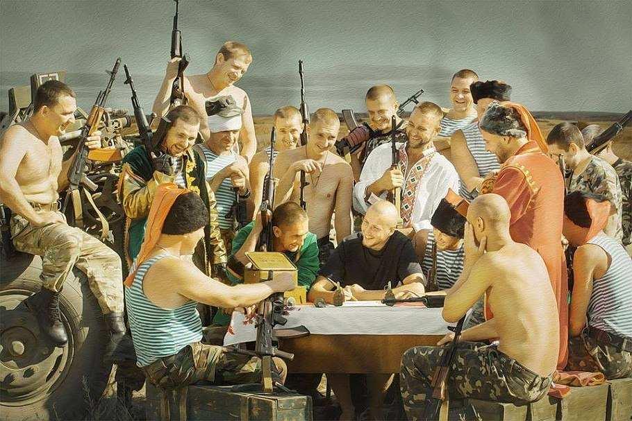 Військові пишуть листа Путіну