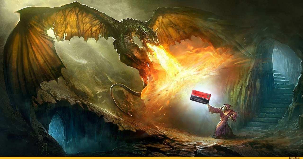 Правий сектор проти дракона