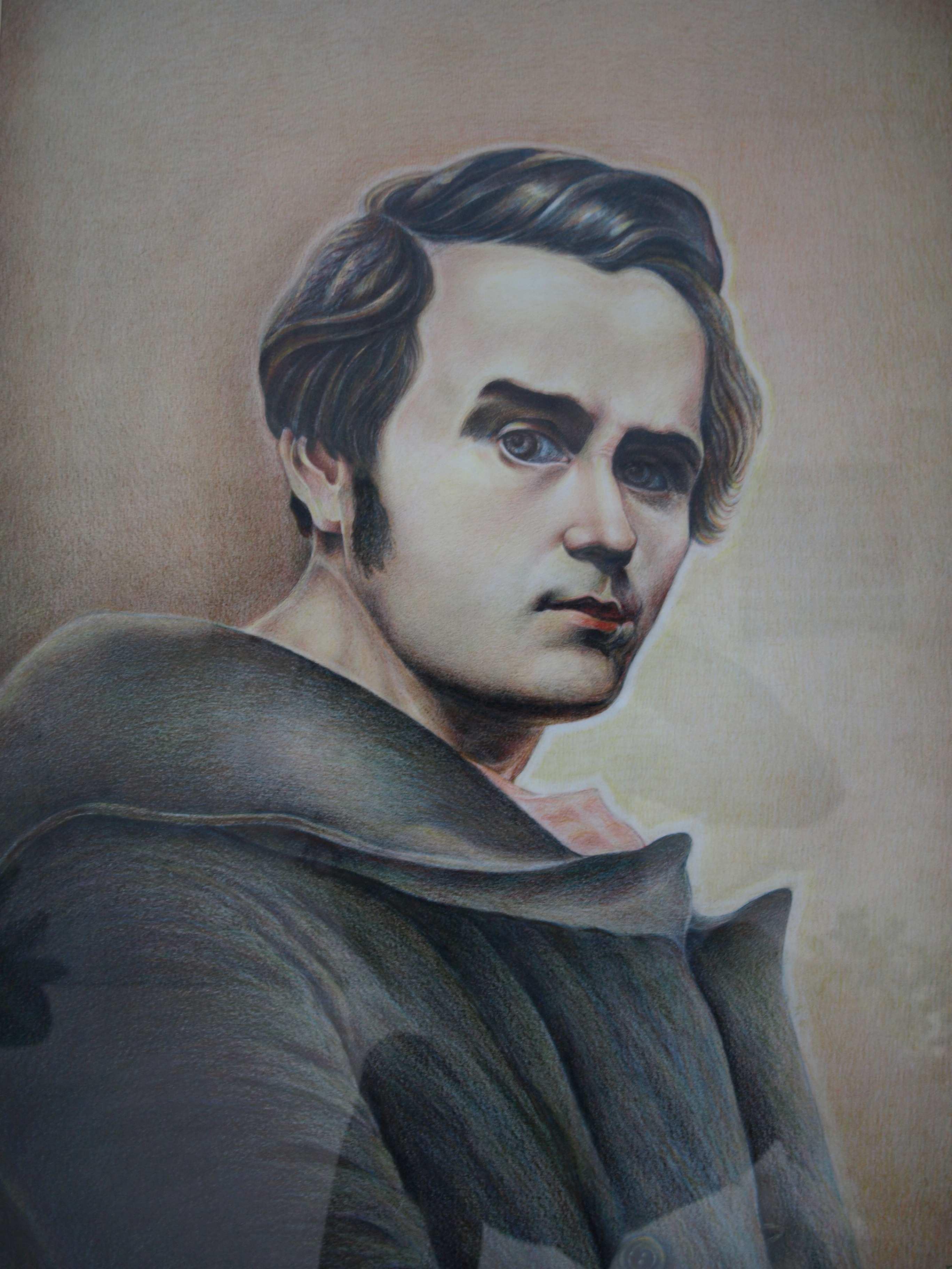 Портрет молодого Шевченка
