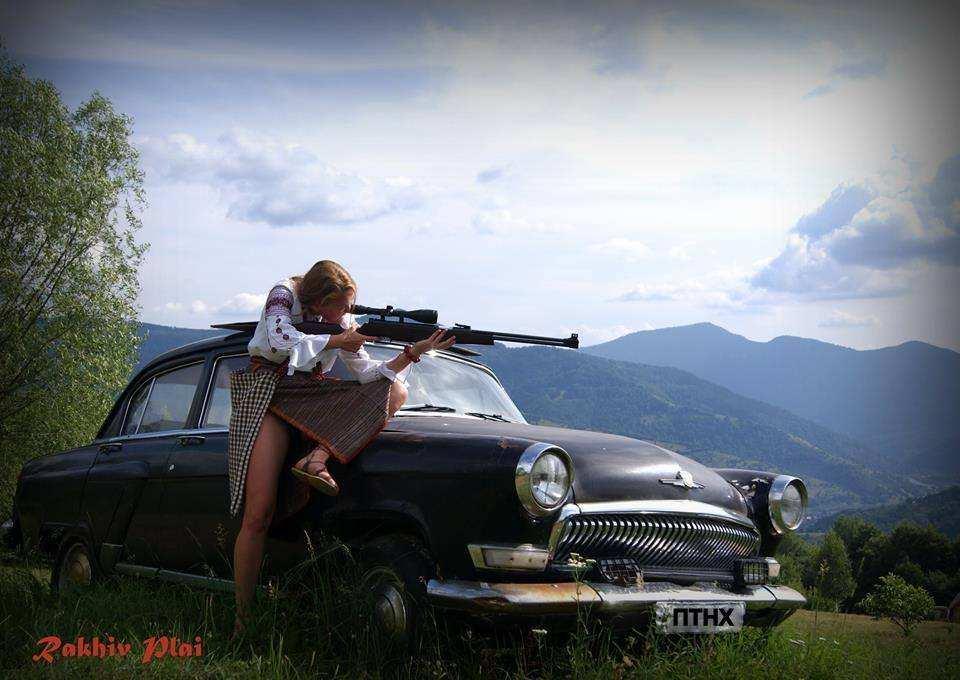 Гуцулка полює на Путіна