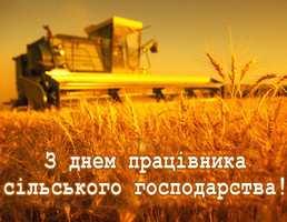 День працівників сільського господарства. 15 листопада
