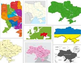 Колекція №2 мап України