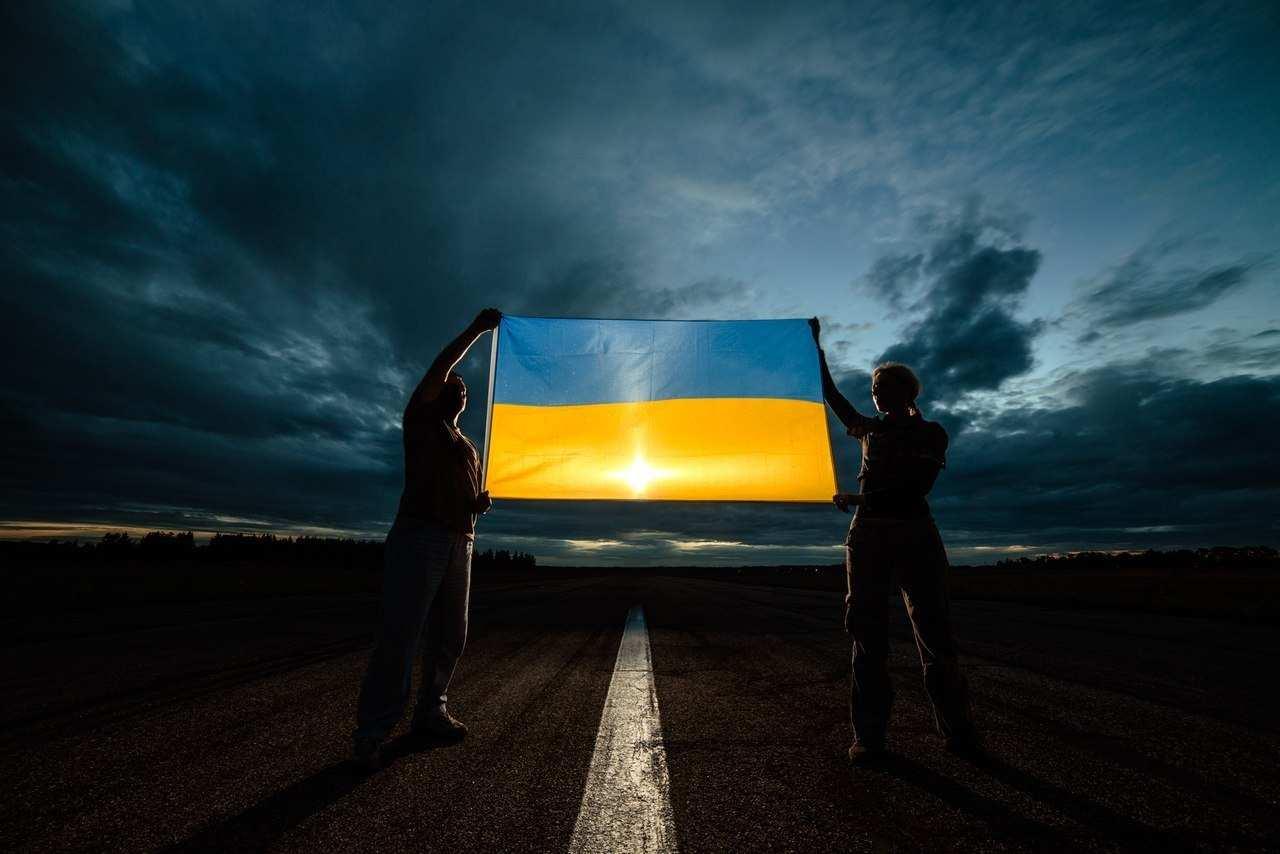 Шпалера з прапором України