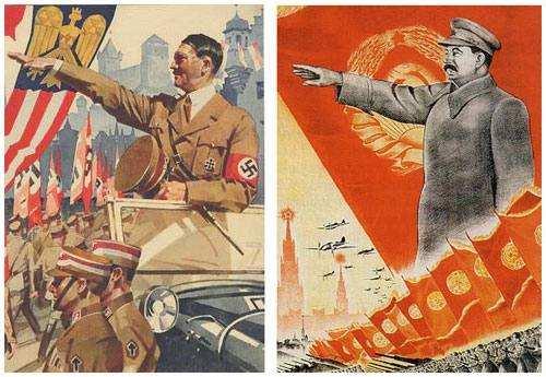 Гітлер і Сталін - кати!