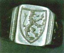 перстень із зображенням герба Галичини