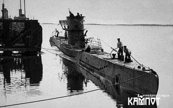 субмарина Гітлера