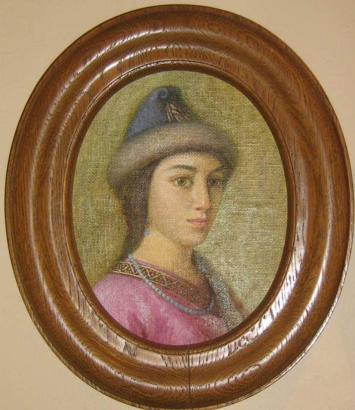 Портрет Розанди із музею в Чигирині