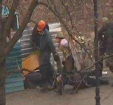 Військові дії на вул. Києва