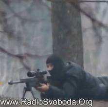 Відео з снайперами в Києві