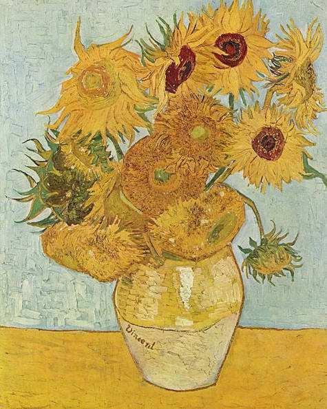 Вінсент ван Гог, Соняшники